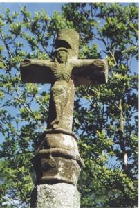 détail de la croix du XIII°