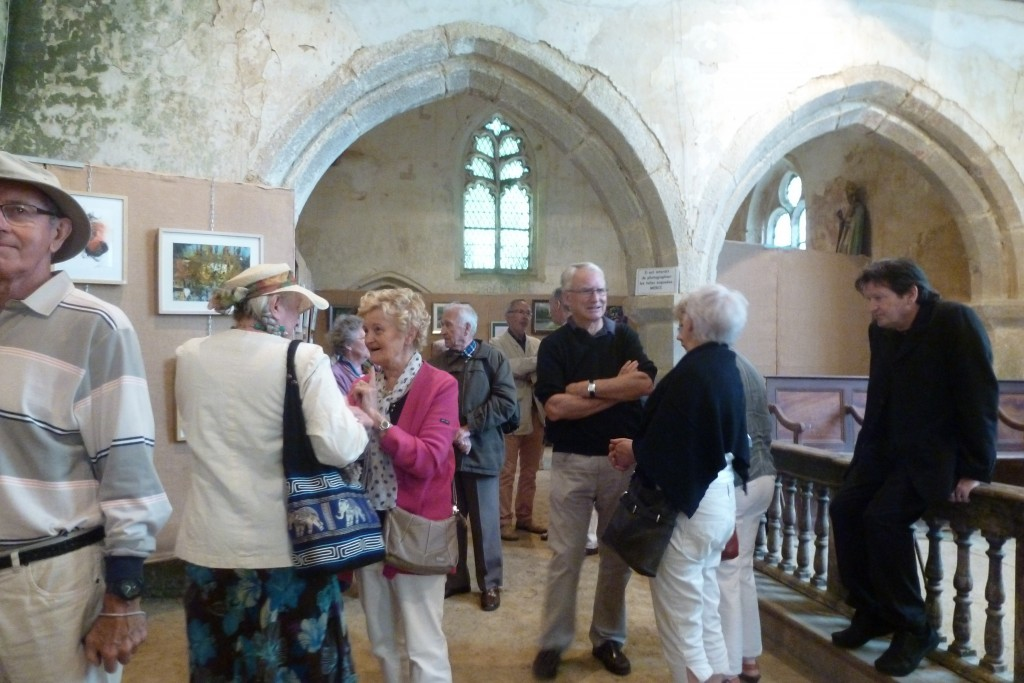 inauguration d'une expo