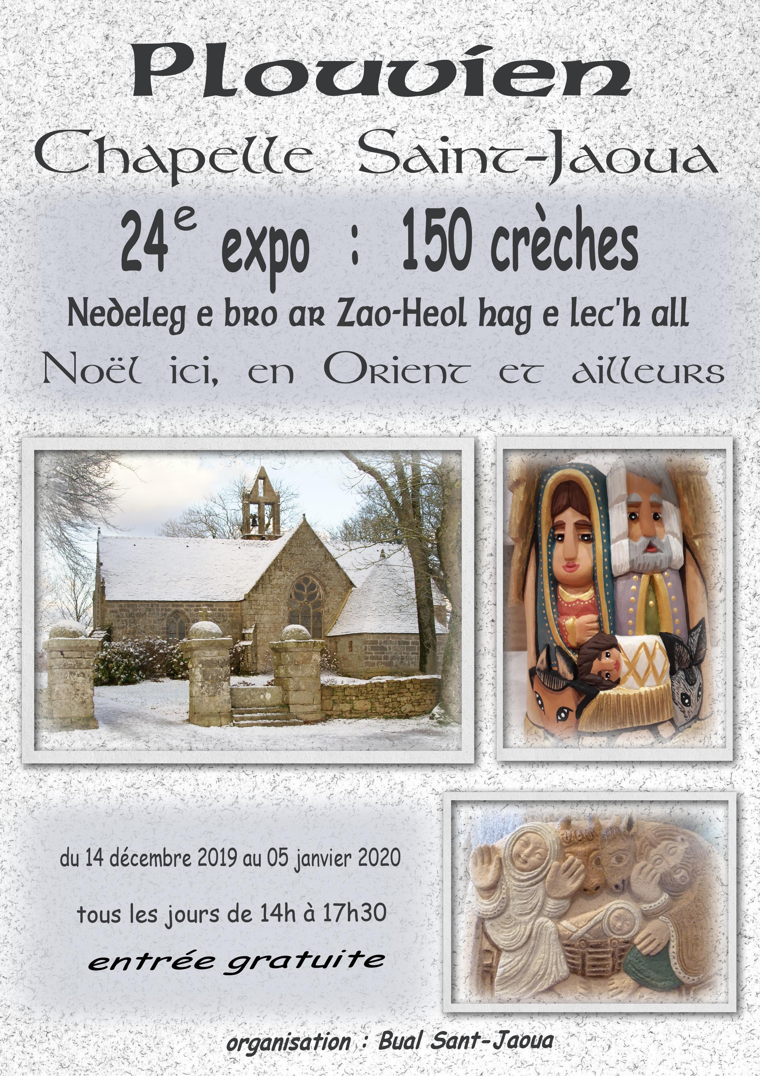 Exposition de crèches de Noël   Bual Sant JaouaBual Sant Jaoua