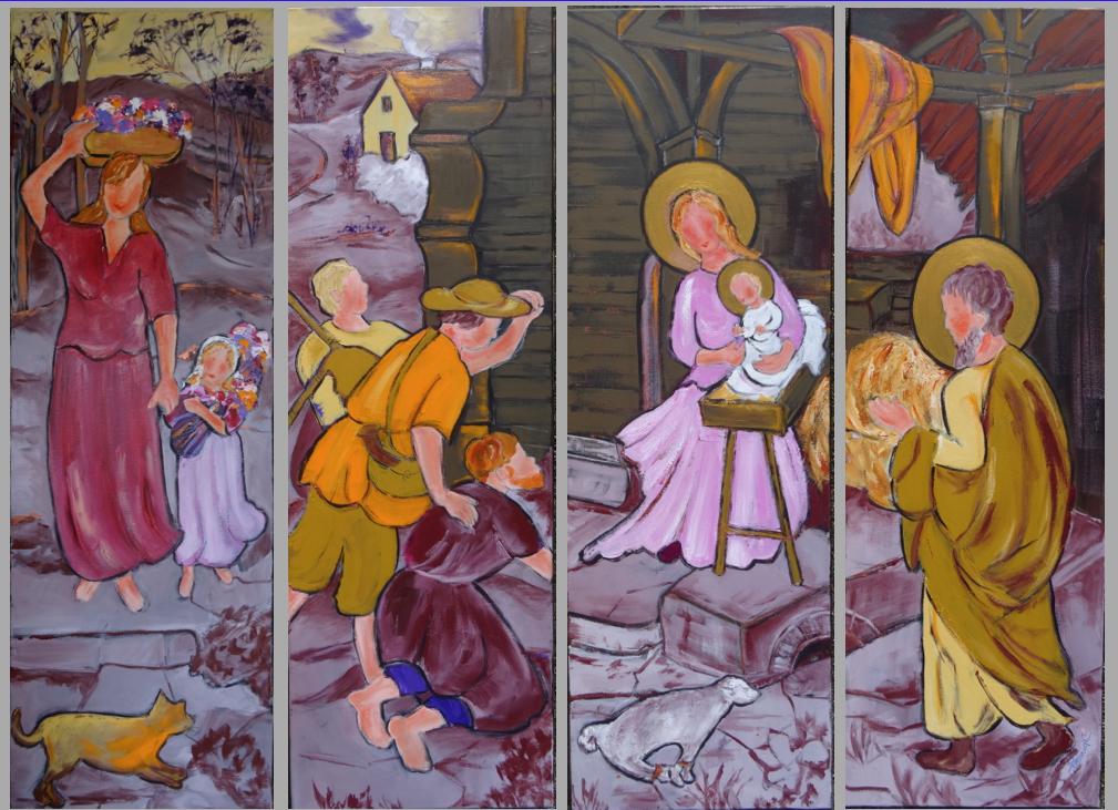 Nativité aux bergers